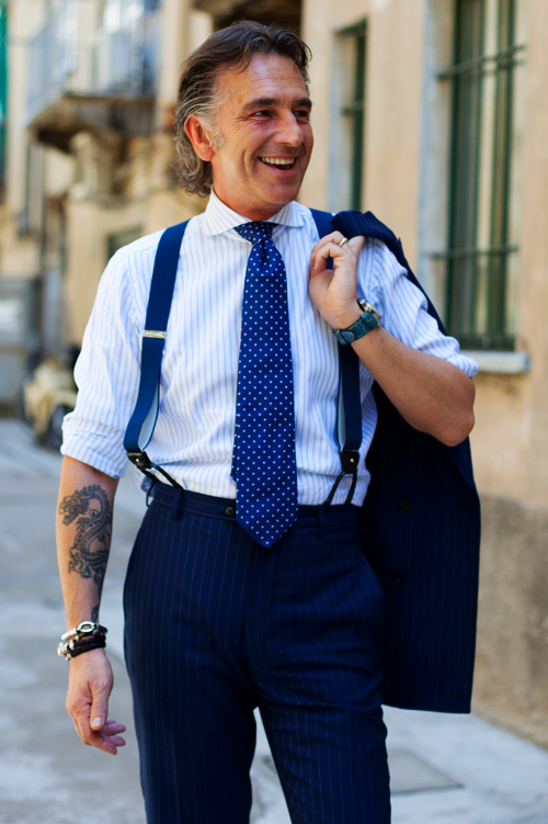 Let S Discuss Suspenders 171 The Sartorialist