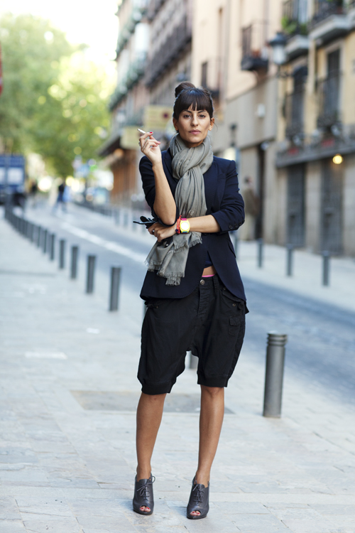 On The Street Calle Del Prado Madrid The Sartorialist