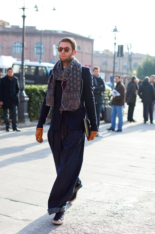 On The Street Big Denim Florence 171 The Sartorialist