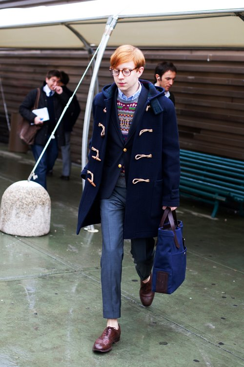 If You're Thinking About  . Duffle Coats   The Sartorialist