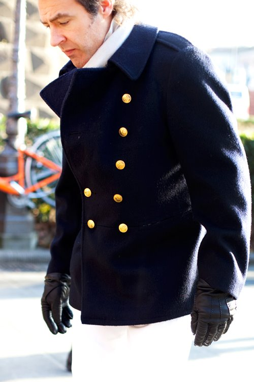 On the Street….Gold Buttons, Florence « The Sartorialist