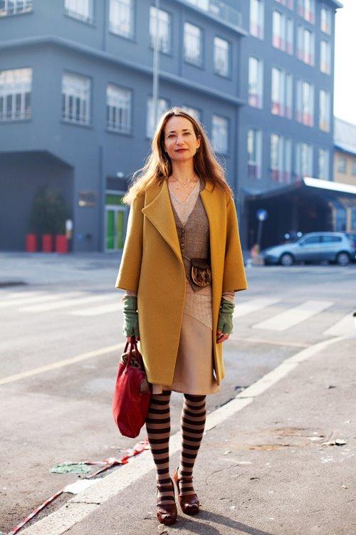 Комментарий: Итальянская уличная Мода Милан.