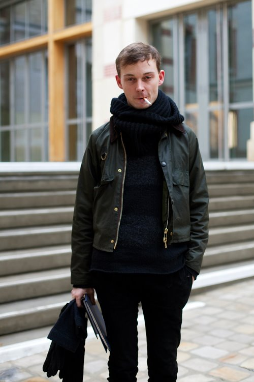 On The Street Barbour Chic Paris 171 The Sartorialist