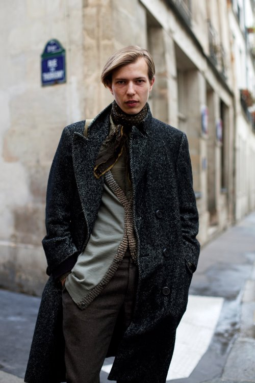 On The Street Another Herringbone Tweed Paris 171 The