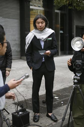At The Photo Shoot Brutus Fashion Editor The Sartorialist