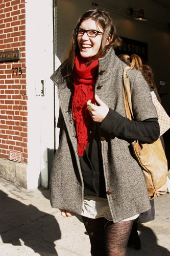 Another Great Short Sleeve Coat in Nolita « The Sartorialist