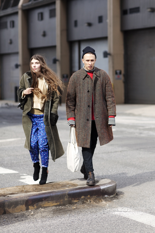 Уличная мода в Нью-Йорке.  On the Street.  New York.