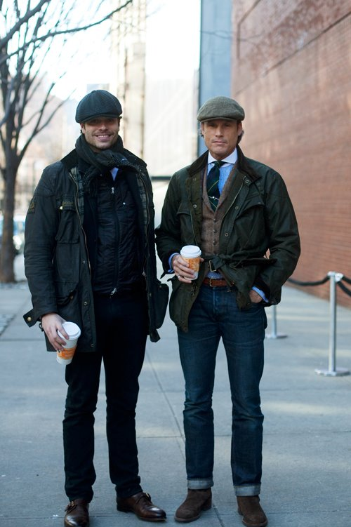 On the Street….Before the Ralph Lauren Show, NYC « The Sartorialist