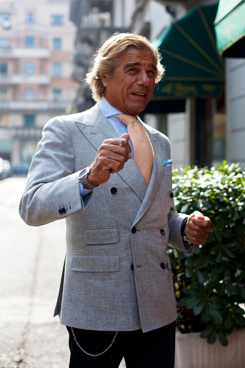 On The Street Lino Of Spring Milano 171 The Sartorialist