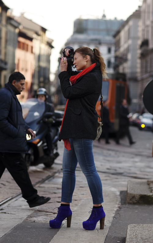On The Street….angelika, Milan « The Sartorialist