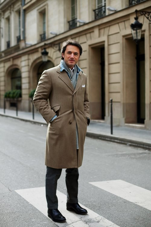 French Street Style Men On The