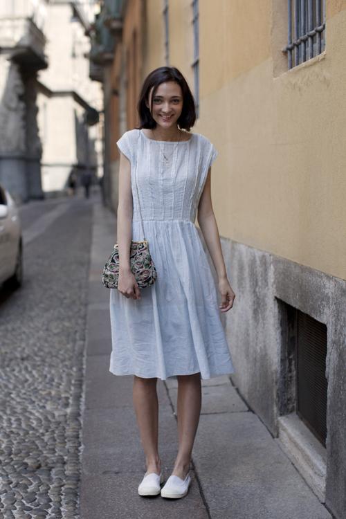 On the Streetu2026.via del Carmine Milan u00ab The Sartorialist