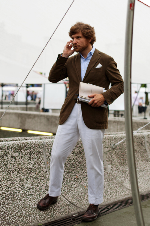 On The Street Rugged Amp Refined Florence 171 The Sartorialist