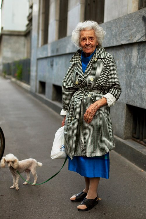 On The Street Trench Tie Milano 171 The Sartorialist