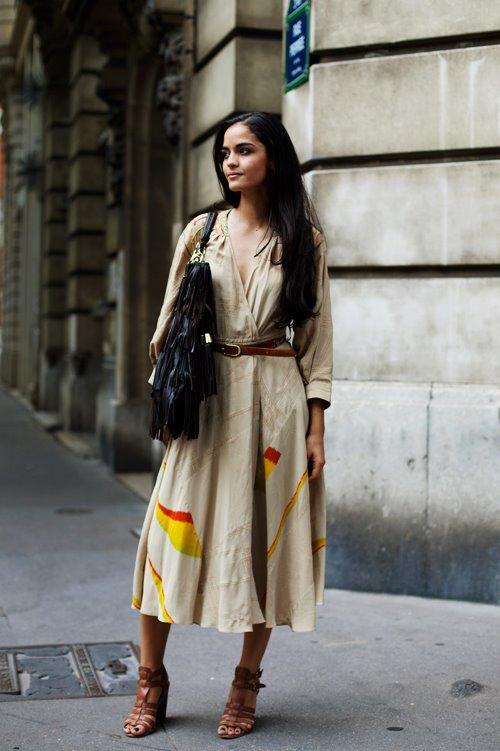 """Уличная мода Париж  """" Стилист журнал."""