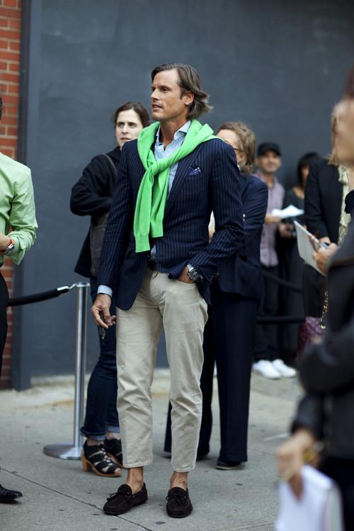 Cкотт Шуман: Мужская мода на улицах большого города.