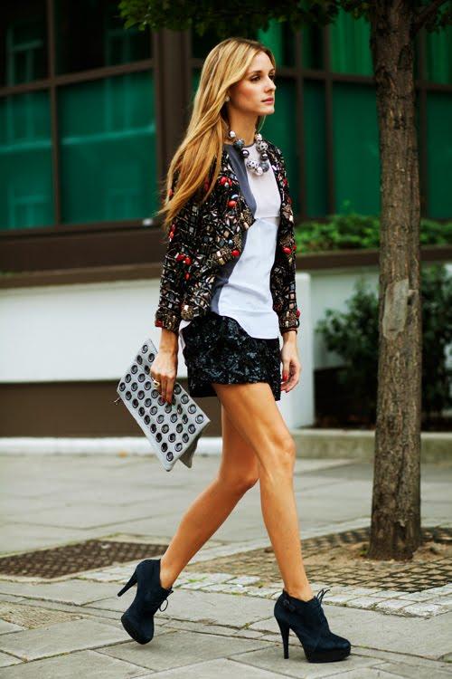 городской стиль одежды.