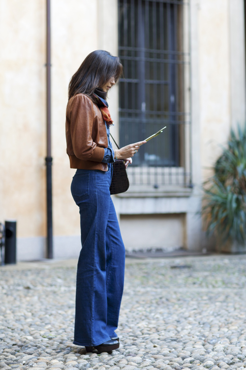 On the Street… Fit for Flare, Milan « The Sartorialist