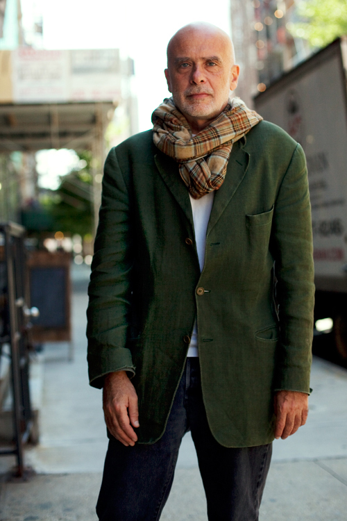On The Street Francesco Clemente Bond Street New York City The Sartorialist