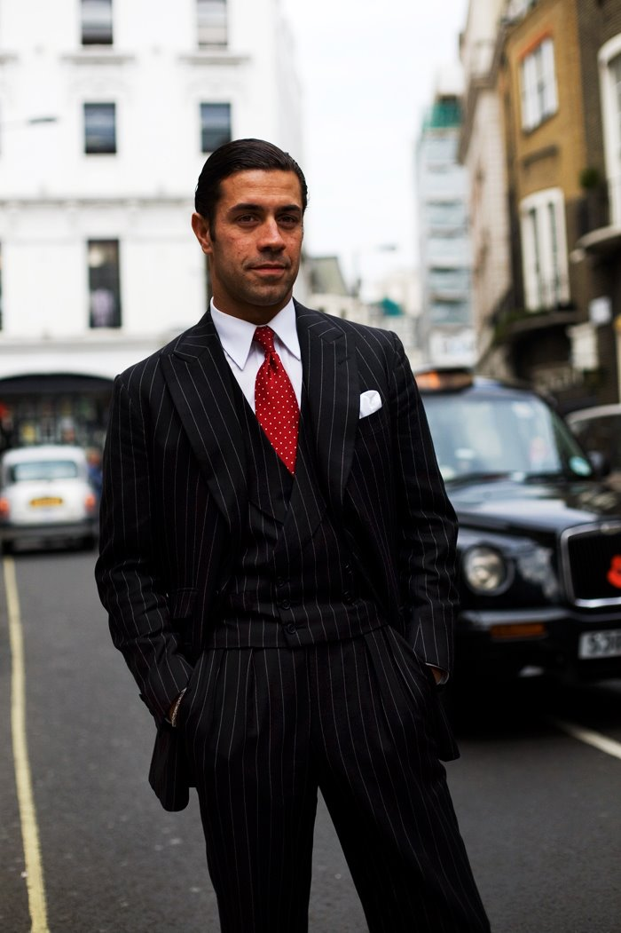 On the Street…The DB Vest Suit, London « The Sartorialist