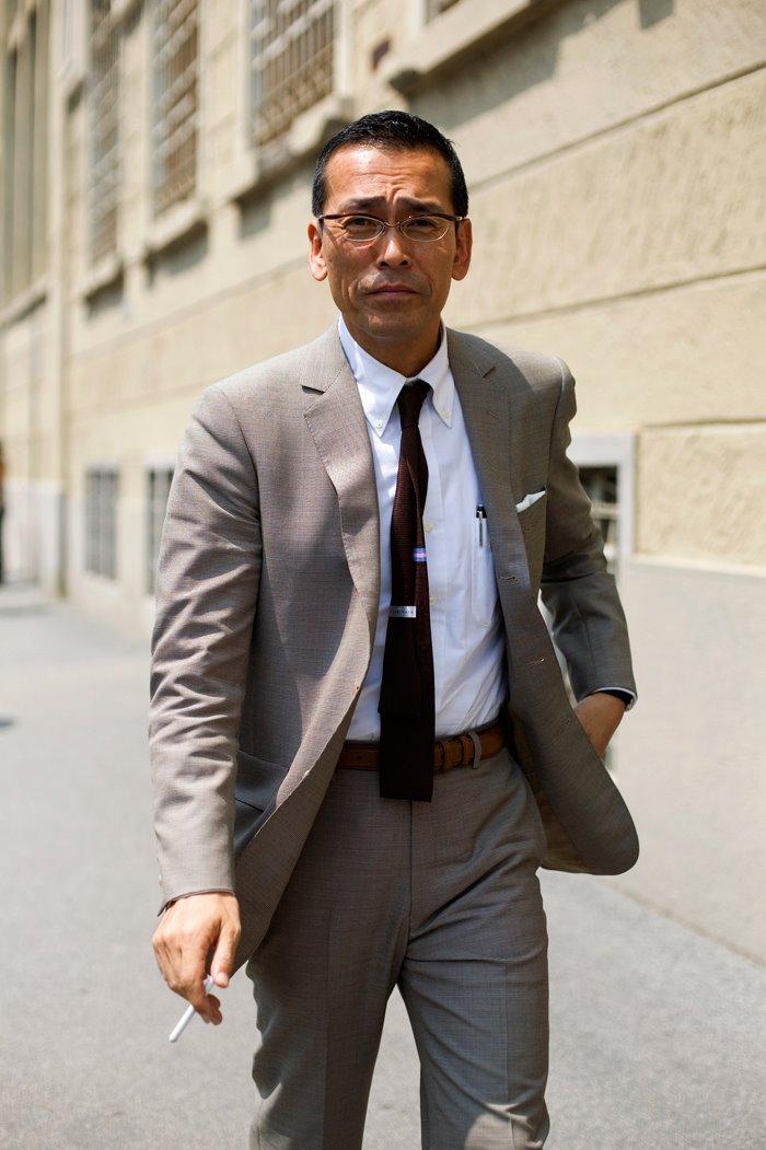 On The Street Mad Men Of Milan The Sartorialist