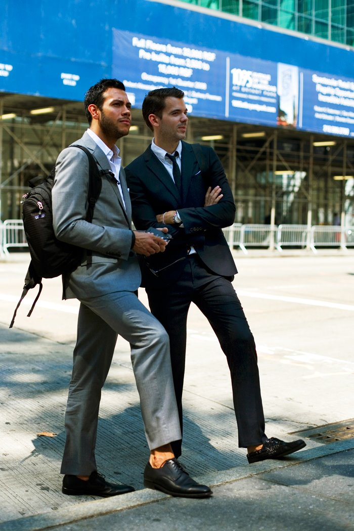 sockless business suits