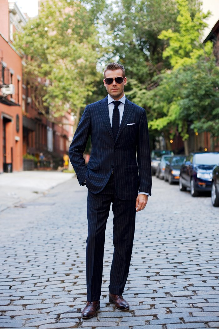 On The Street Mr Fitzwell Nyc 171 The Sartorialist
