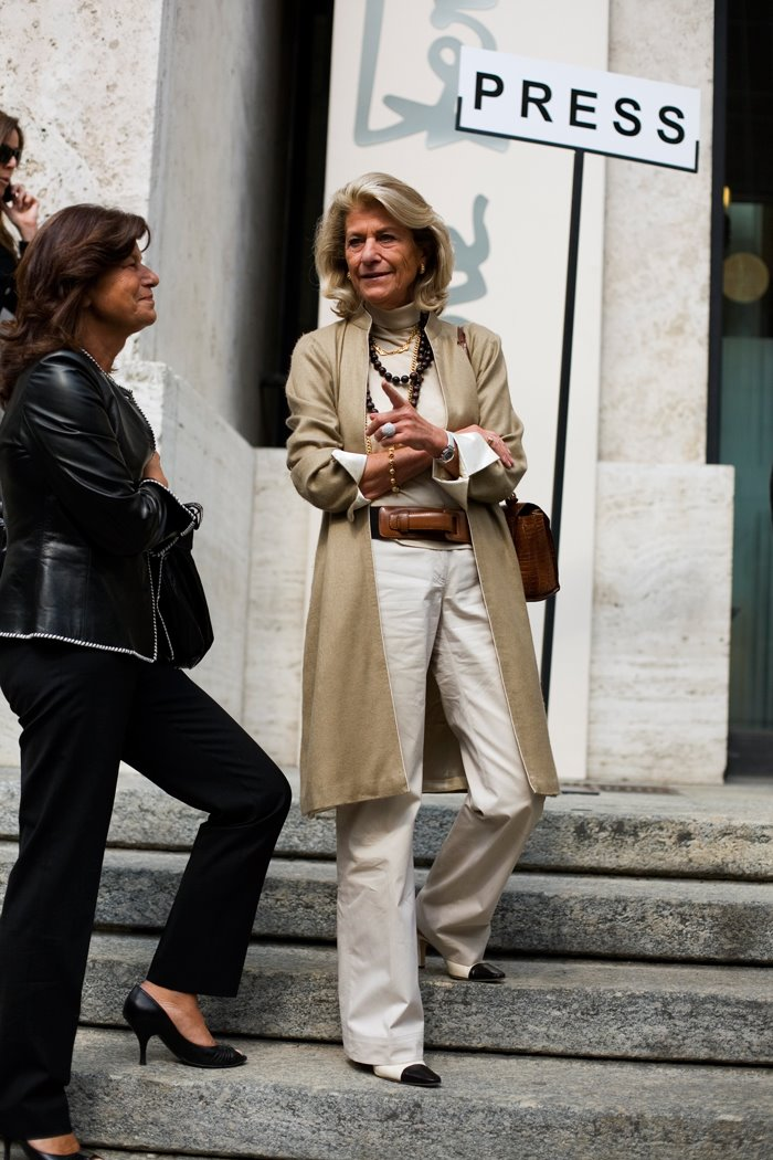 Stylish Women Already in Milan