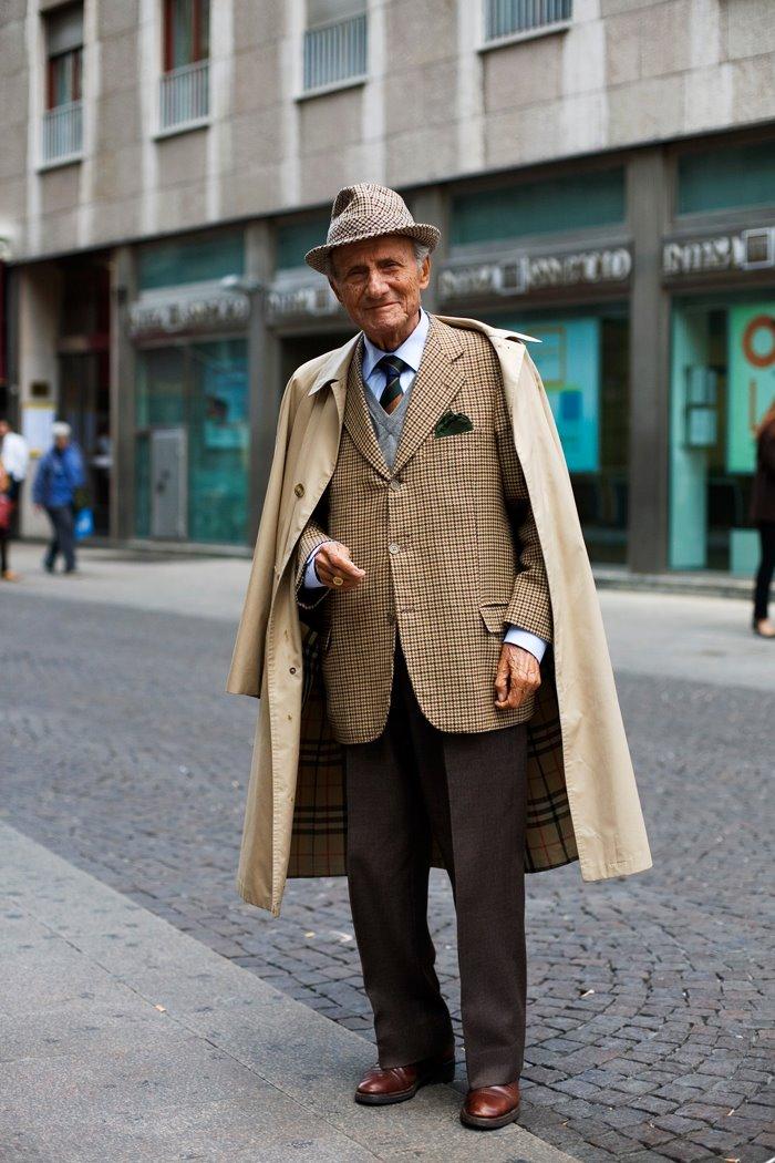 On The Street Near The Duomo Milano The Sartorialist