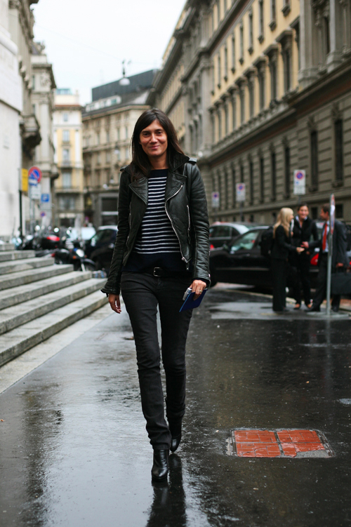 On The Street The Impossible Emmanuelle Alt Milan 171 The