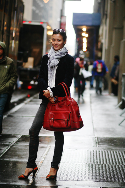 On the Streetu2026..Rainy Day New York u00ab The Sartorialist
