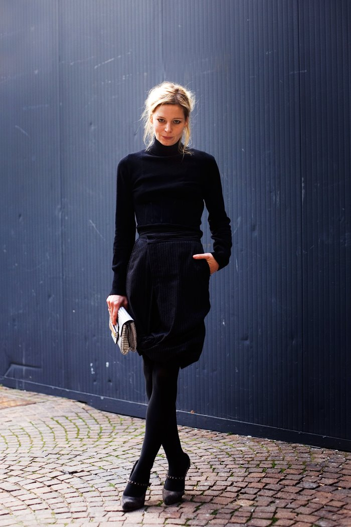 Classic blacks on blonde — photo 7