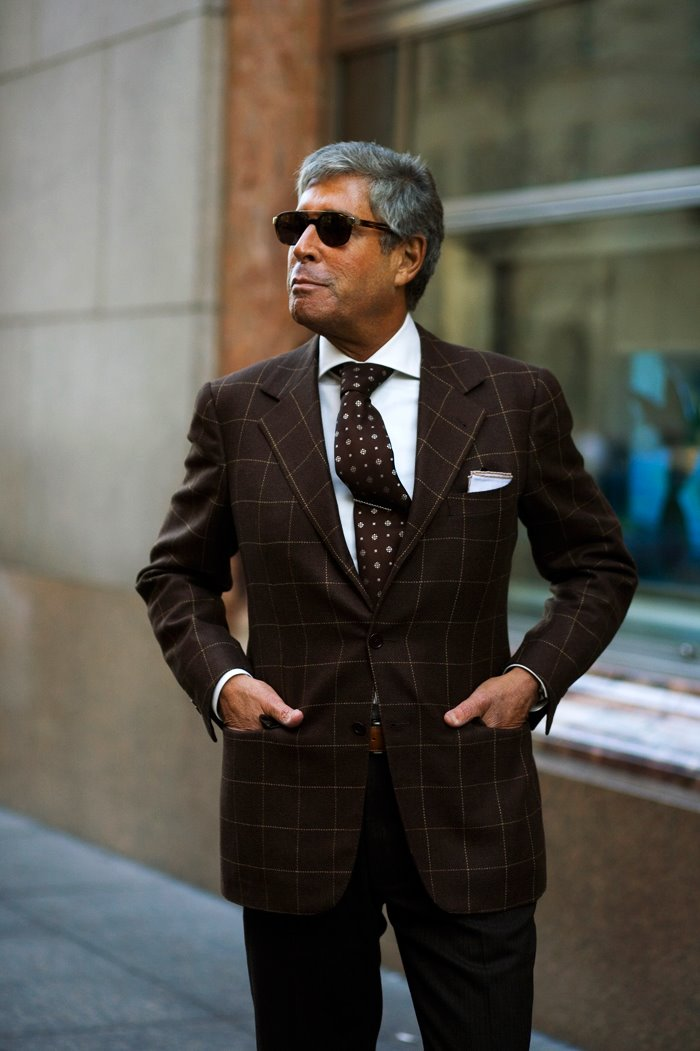 On The Street Channeling Marcello New York The Sartorialist