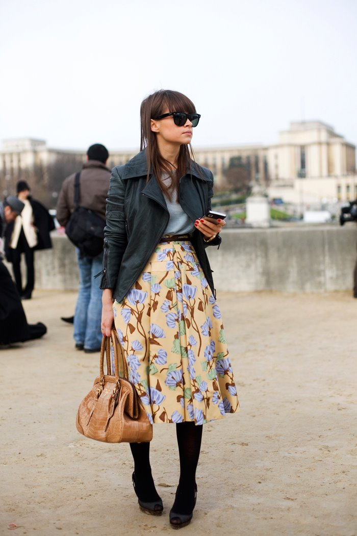 On The Street Transitional Floral Paris The Sartorialist