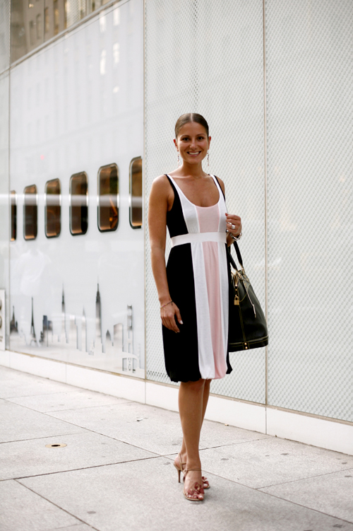 On the Street…Just Before an Evening Cocktail Event at Louis Vuitton ...