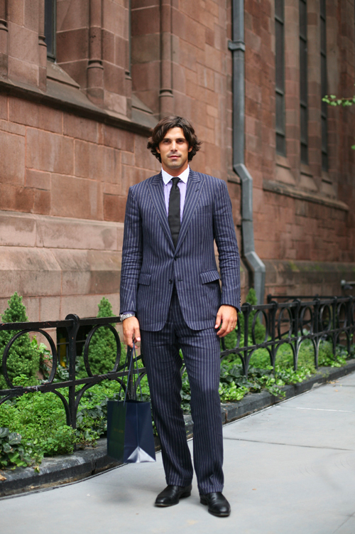 Long Hair With Suits The Sartorialist