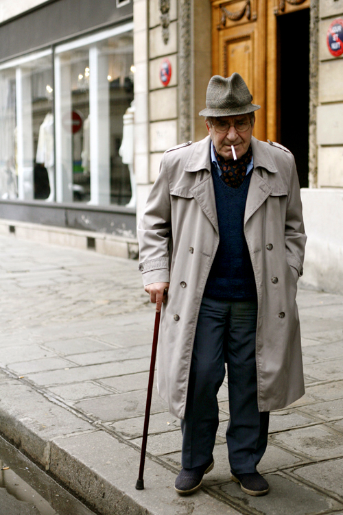 Old Man Style Le Marais Paris The Sartorialist