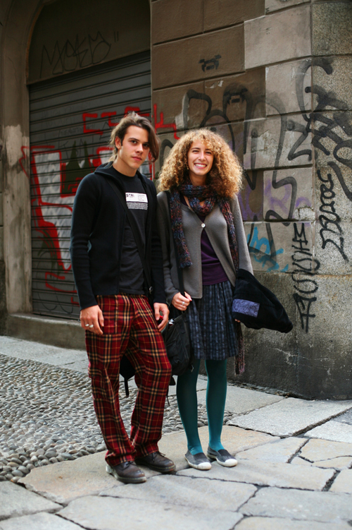 On the street young milanese milan the sartorialist for Arredamenti sartor novate milanese