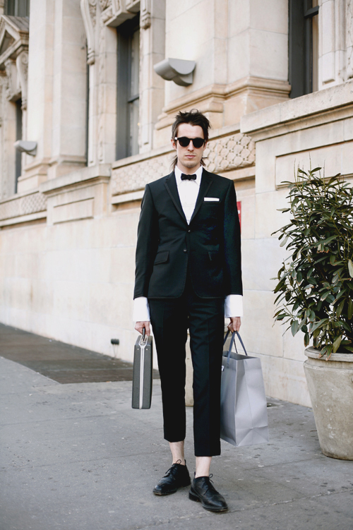 on the street�thom browne tux west village 171 the