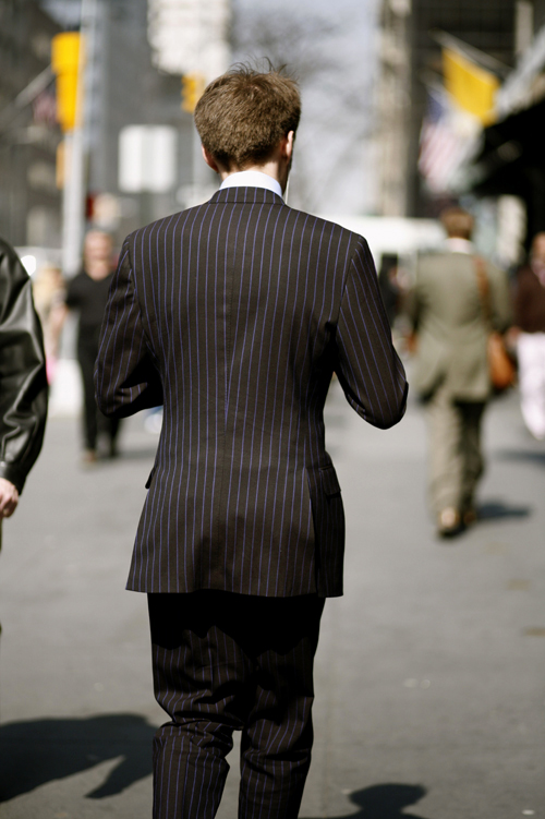 How A Suit Should Look From The Back « The Sartorialist