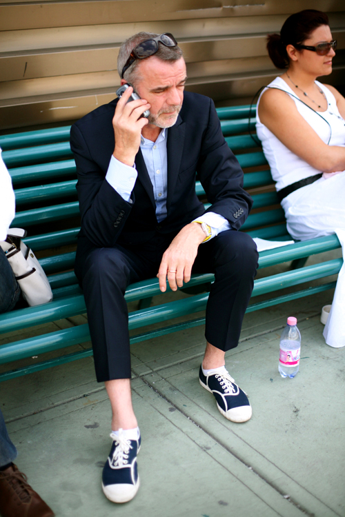 At Pitti The Tennis Suit The Sartorialist