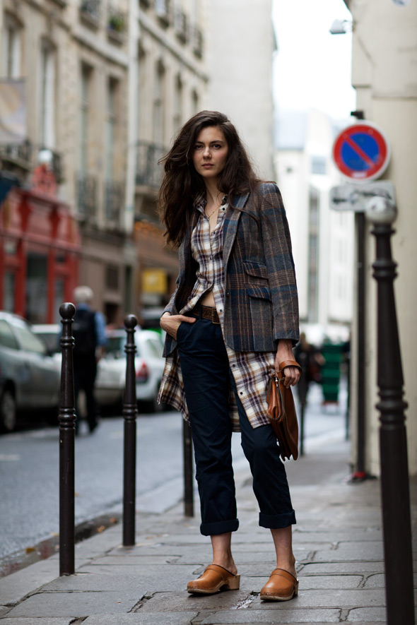 On the Street….Short Over Long, Paris « The Sartorialist