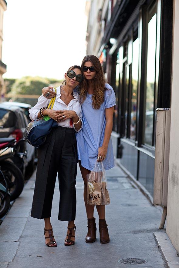 Mother & Daughter, Paris