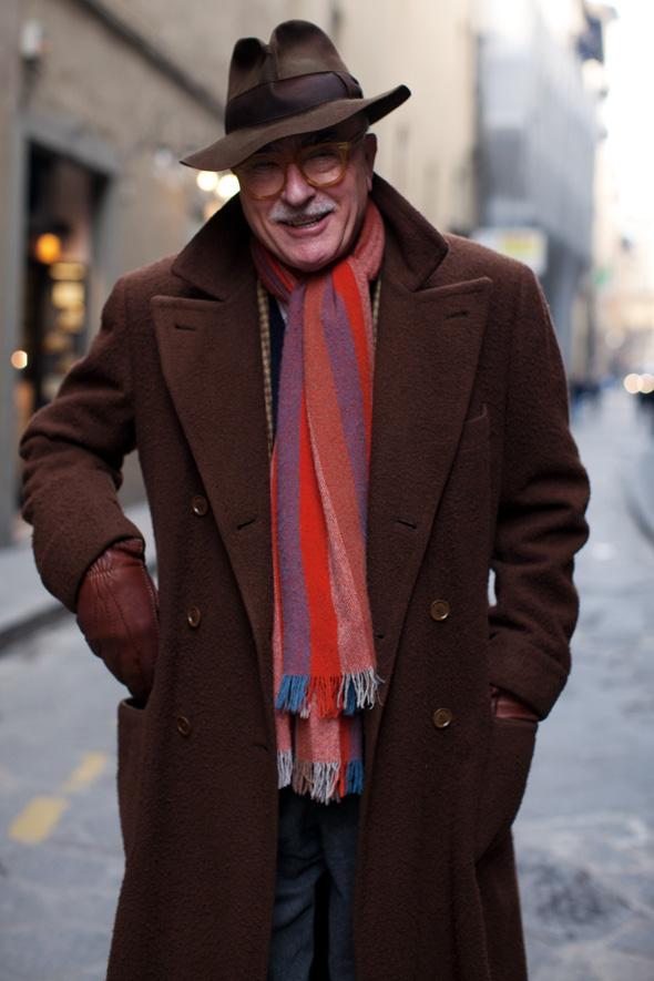 On the street mr barbera florence the sartorialist for Italian fashion websites