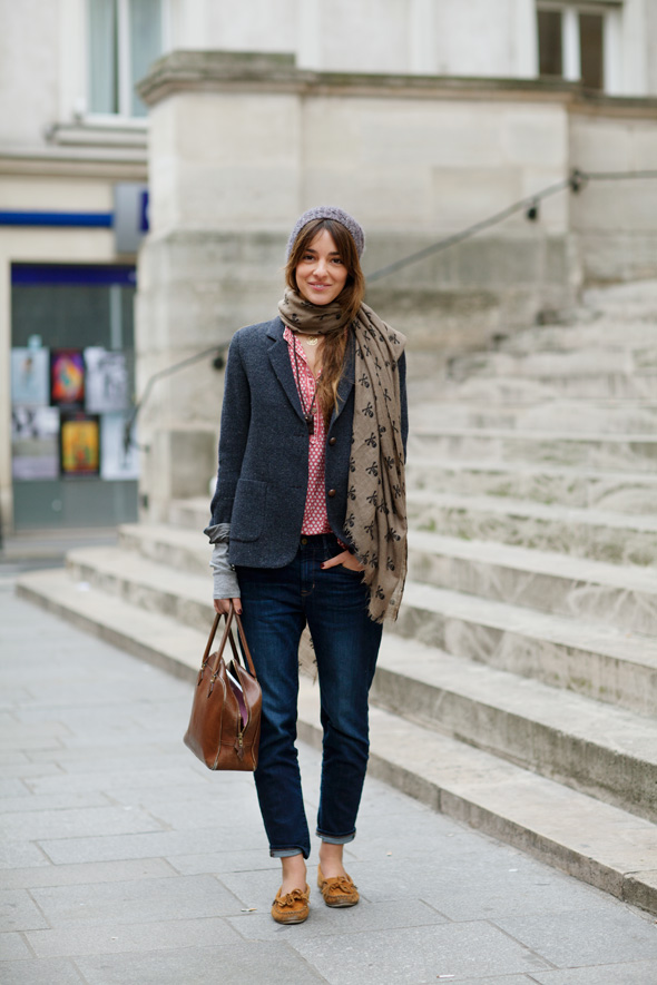 Paris street style, simple