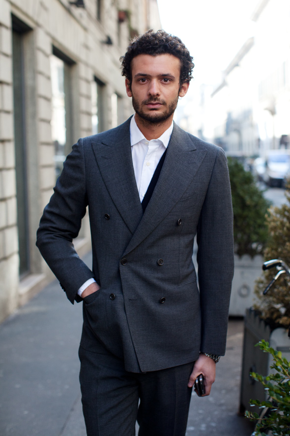 A Visual Lesson In How A Suit Should Fit A Young Man, Milan « The