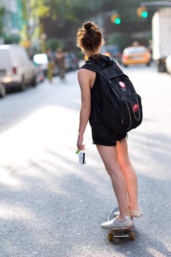 Learn to kickflip on a skateboard