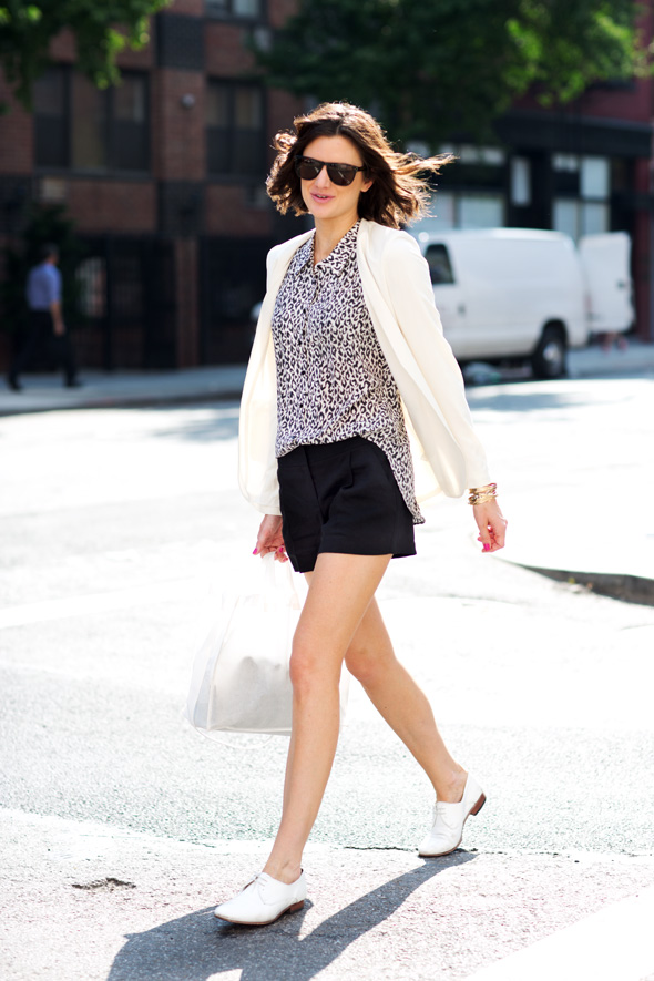 shorts in office business casual woman 2012 attire clothing fashionable inspiration
