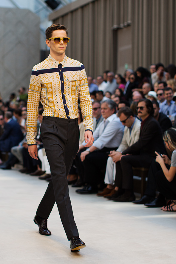 1fc0373ca214 Burberry – Men s Spring Summer 2013 « The Sartorialist