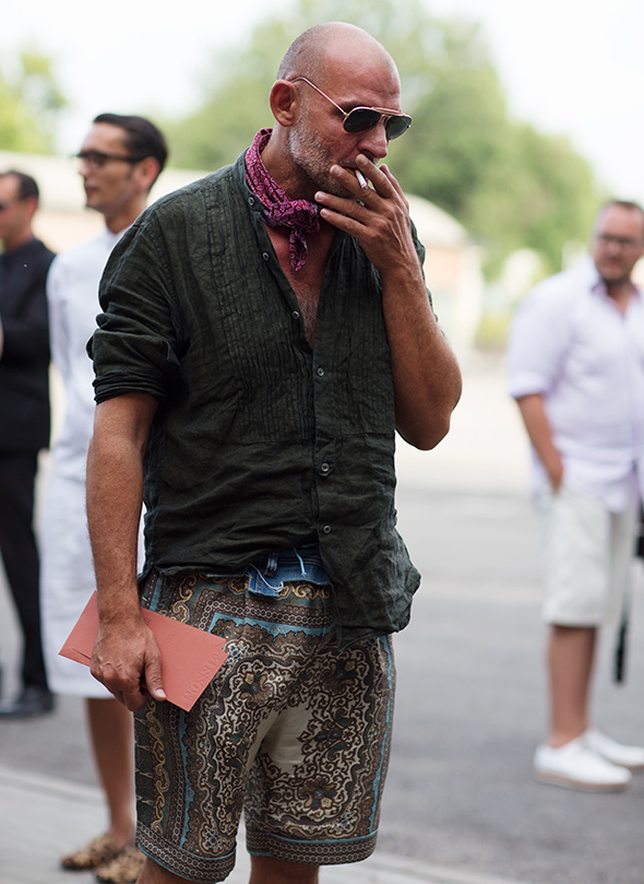 On The Street Perfect Casual Shirt Milan 171 The Sartorialist